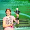 Astrid Schnieders is voorleeskampioen provincie Groningen
