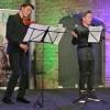 Nino Pen (voorleeskampioen Noord-Holland 2015) leest voor met violist!